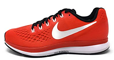 free shipping be748 47d8c Nike Womens Air Zoom Pegasus 34 TB Running Shoe Team Orange/White-Black  Size 11 M US