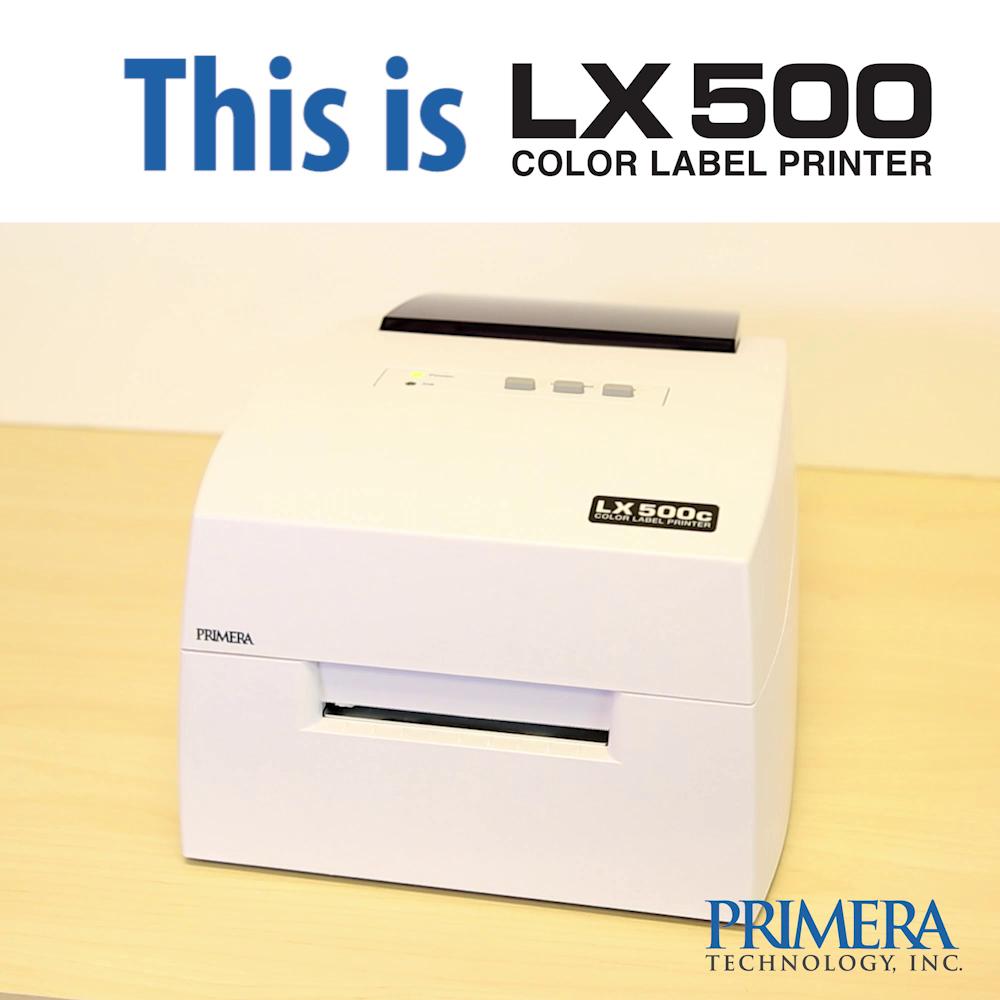 24038cf7043 Primera LX500 Color Label Printer - Print Full-Color Product Labels ...