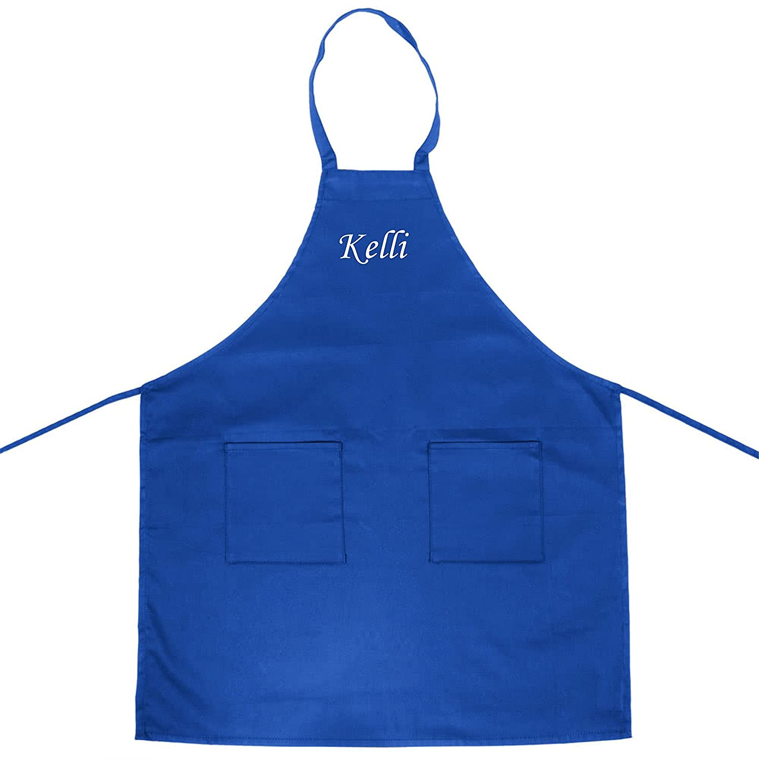 Personalized apron with name, custom adult apron,
