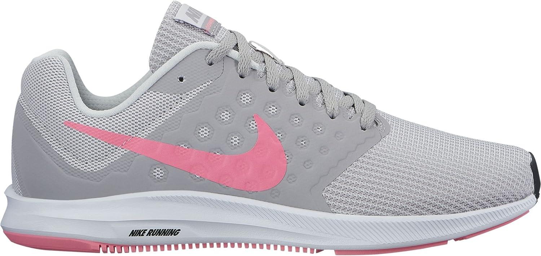 Zapatillas para mujer de Nike Downshifter 7, (Vast Grey/Sunset Pulse/Atmosphere Grey), 8 B(M) US: Amazon.es: Zapatos y complementos