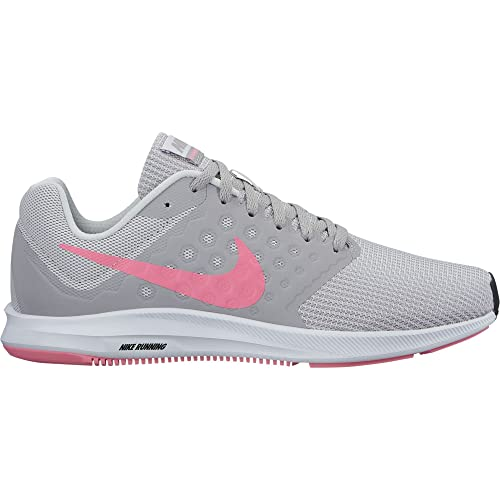 3c62d18308f9 Nike - Downshifter 7 (Vast Grey Sunset Pulse Atmosphere Grey) Women s  Running Shoes.us9.5  Amazon.in  Shoes   Handbags