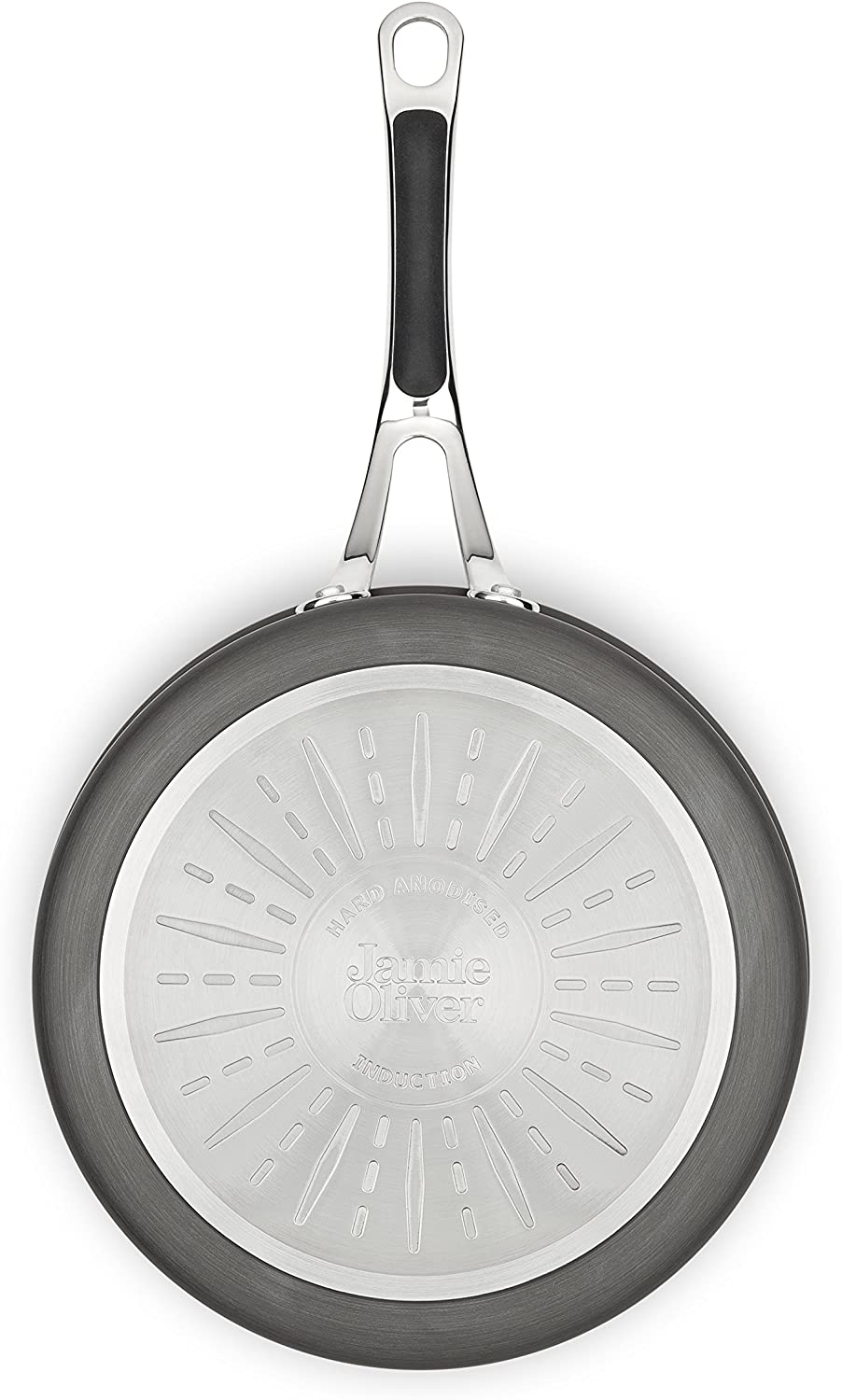Details about  /Jamie Oliver by Tefal Cooks Classic Hard Anodised Induction Frypan 24cm