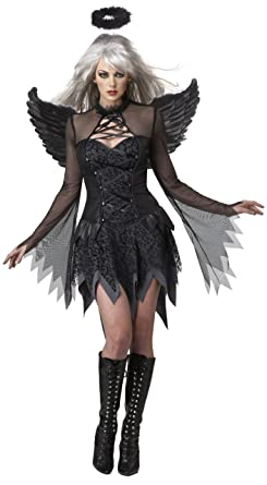 d20dc560a Amazon.com  California Costumes Fallen Angel Dress Costume  Clothing
