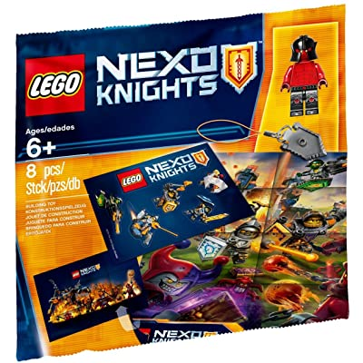LEGO NEXO KNIGHTS Intro Pack 5004388 (8 Piece Polybag Set): Toys & Games