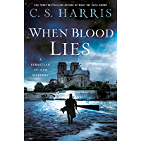 When Blood Lies (Sebastian St. Cyr Mystery Book 17)