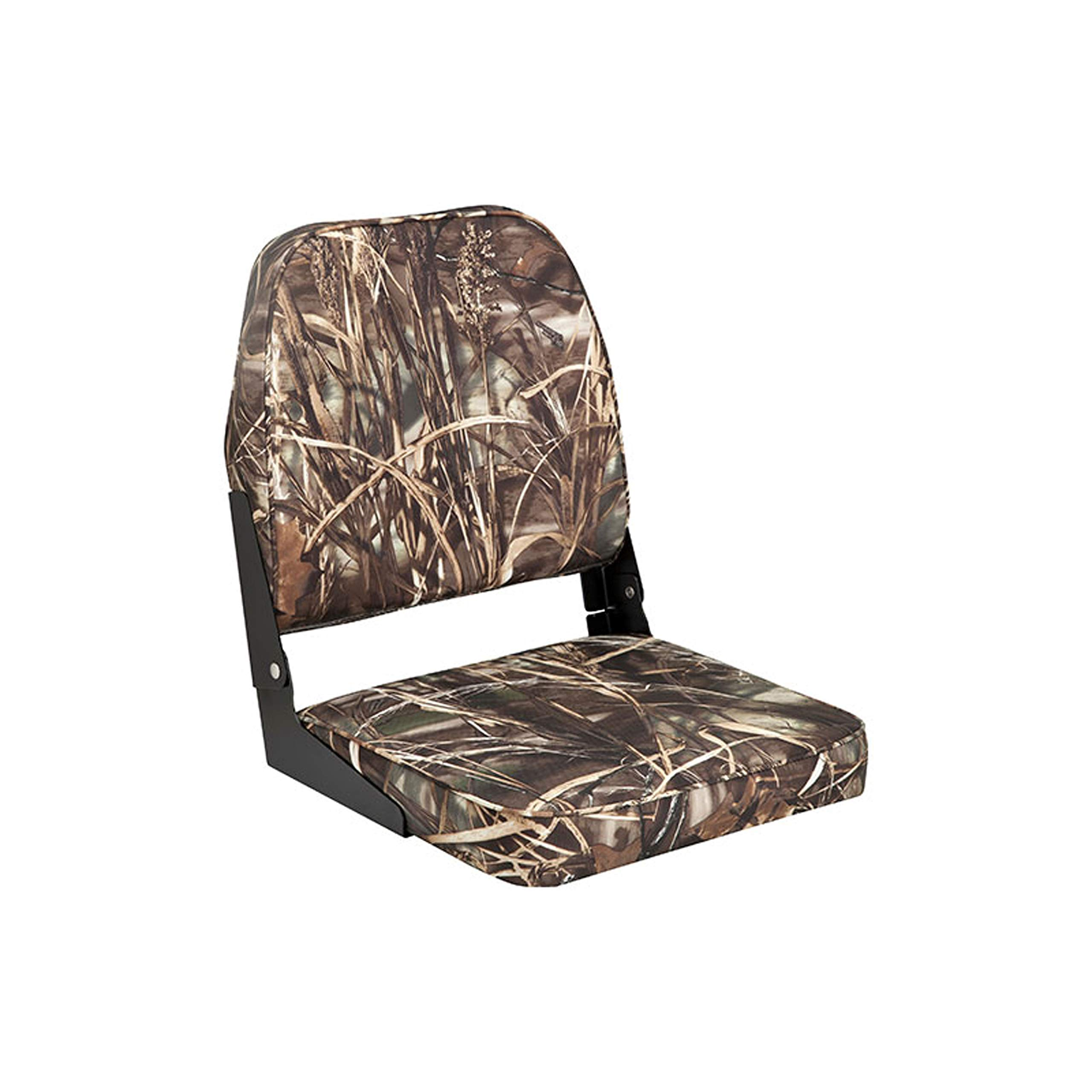 attwood Camouflage Unspecified 98395CAMO Low Back Fishing Seat-Camo by attwood