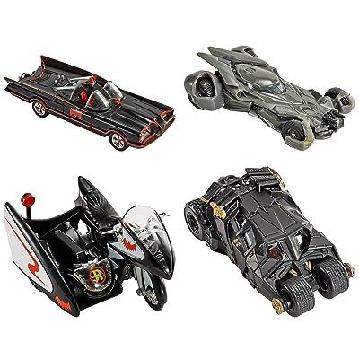 MATTEL 2016 Hot Wheels 1:50 The Dark Knight Batmobile Tumbler- Assorted: Toys & Games
