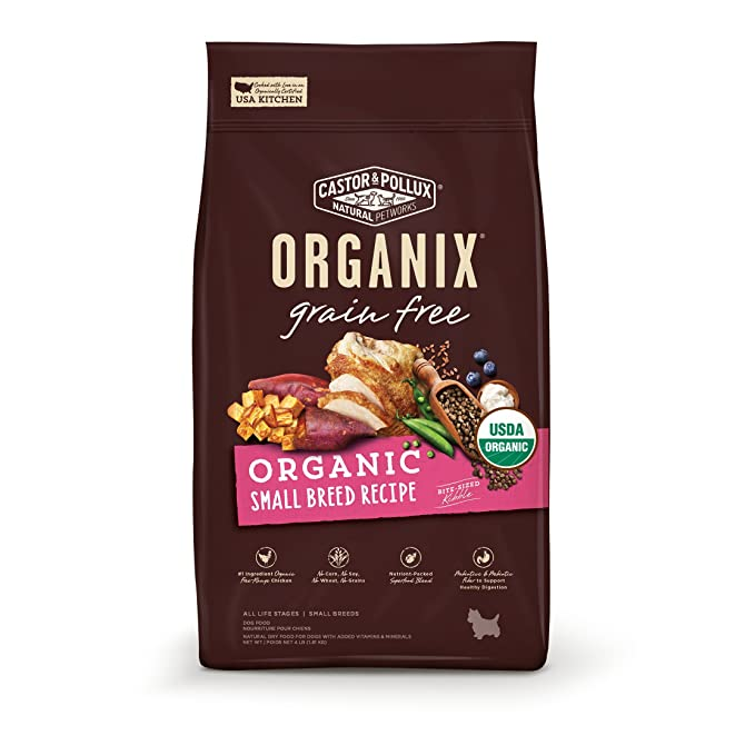 Organix Small Breed Recipe Dry Dog Food - Best for Chihuahuas With Sensitive Skin