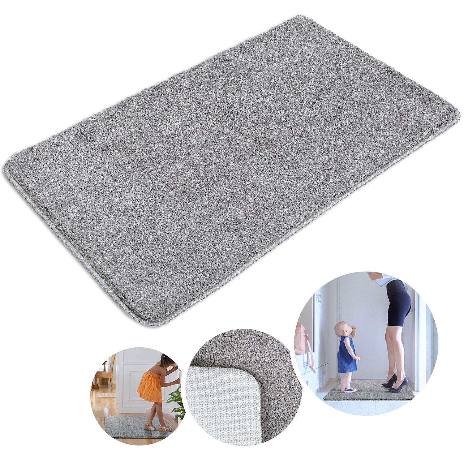 Indoor Doormat Super Absorbs Mud Absorbent Rubber Backing