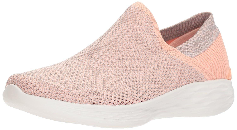Skechers Women's You-14958 Sneaker B072KG63VT 8 B(M) US|Peach