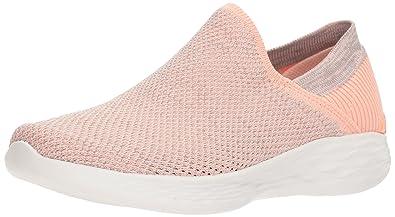 Skechers Women's You 14958 Sneaker Peach: Buy Online at Low