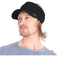 CHARM Womens Sports Sun Visor Hat - SPF UV Protection Japanese Design Mens Headband Peak Cap for Men & Women Tennis…