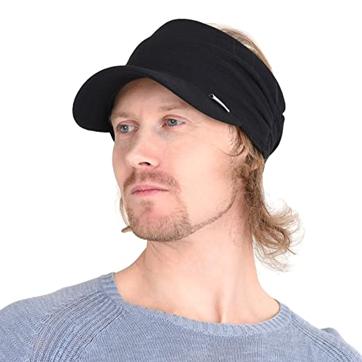 e38135356a1 CHARM Sports Sun Visor Hat - SPF UV Protection Japanese Design Peak Cap for  Men
