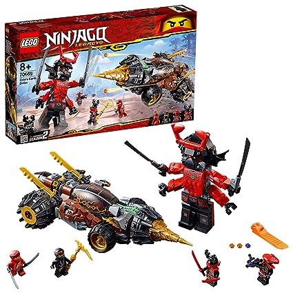 Amazon.com: LEGO Ninjago - Perforadora de Cole (70669): Toys ...