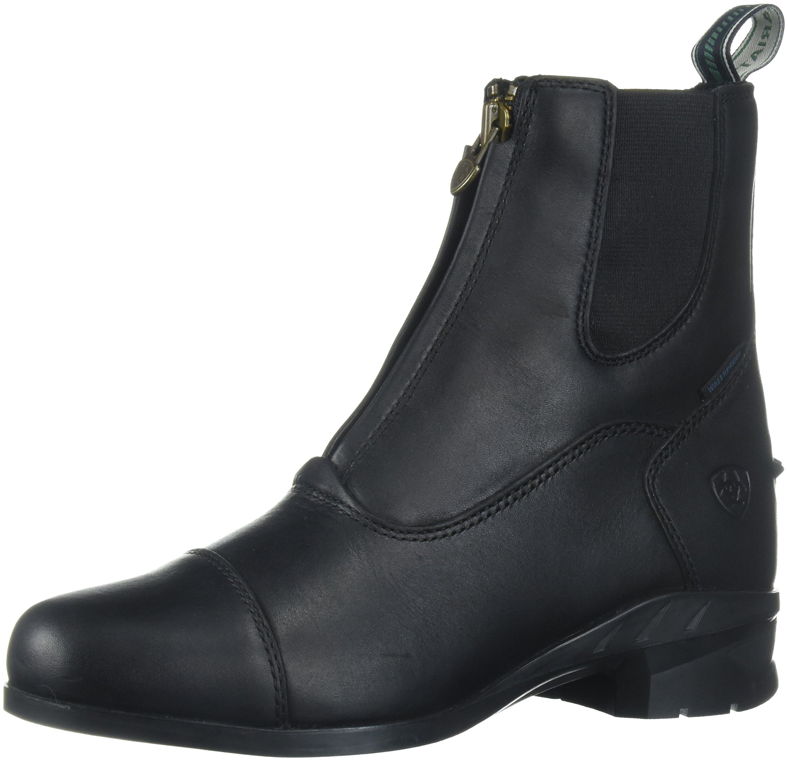 Ariat Women's Heritage Iv Zip H2O Work Boot, Black, 8.5 B US