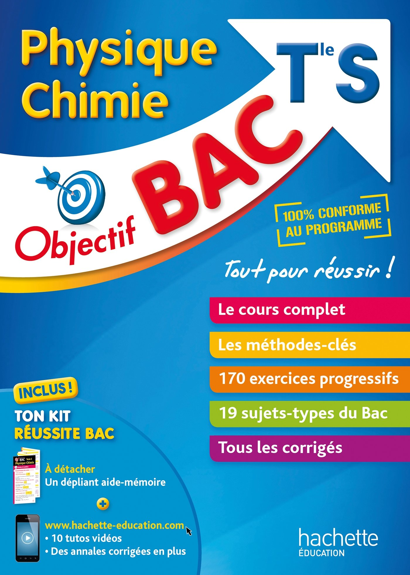 Physique Chimie Tle S (French) Paperback – June 28, 2017