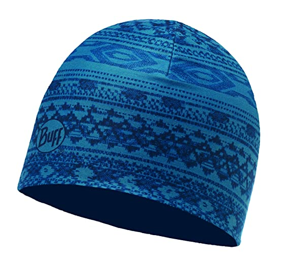 30a8d4e0e46 Amazon.com  Buff Reversible Mircofibre Hat Athor Lake Blue - Adult ...