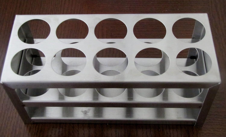 50 Ml 30 Mm Stainless Steel Test Tube Rack 10 Holes 1 1//8