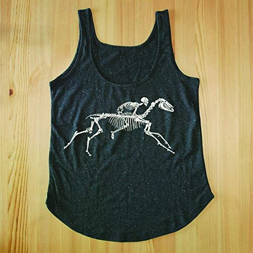 a5cd1f8bff92a Horse Tank Top - Horse Shirts for Women - Horse Skeleton Tank Top - Womens  Graphic Tank Tops - Horse Gifts for Horse Lovers - Womens Horse T Shirts -  Womens ...
