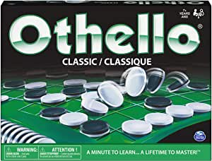 Othello - The Classic Board Game of Strategy for Adults, Families, and Kids Age7 and up
