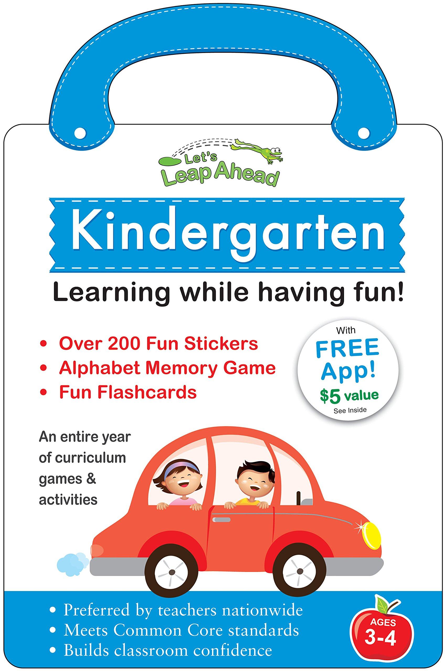 Read Online Let's Leap Ahead: Kindergarten Learning While Having Fun! pdf epub