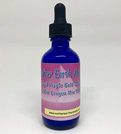 Mother Earth Alchemy 50/50 mix 2oz mix of golden dragon with purple manna  made by real