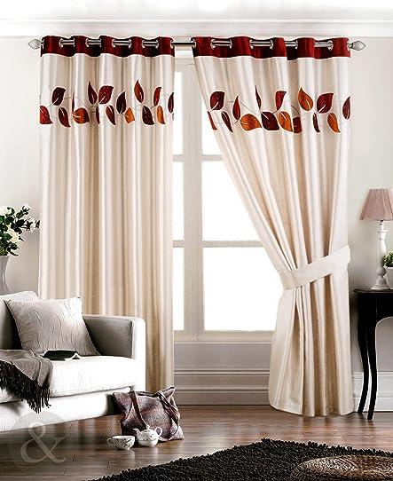 Superbe rideaux en imitation soie entièrement doublés et Rideau à ...