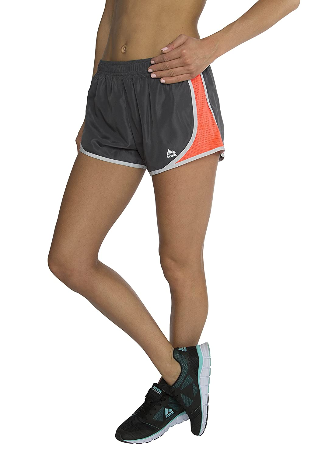 RBX Active Women's Drawstring Track Short With Inner Panty