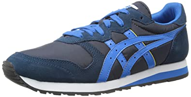 Fashion style -  Women Onitsuka Tiger Asics OC Runner Navy Mid Blue running shoes