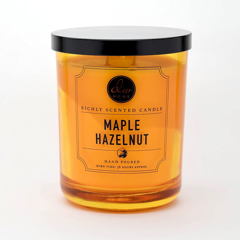 DW Home Large Double Wick Candle, Maple Hazelnut Cream