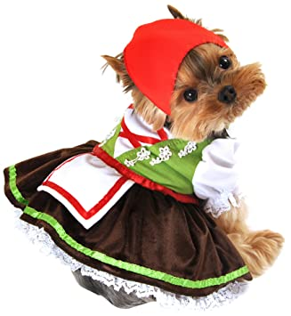Anit Accessories Alpine Girl Dog Costume X-Large 26-Inch  sc 1 st  Amazon.com & Amazon.com : Anit Accessories Alpine Girl Dog Costume X-Large 26 ...