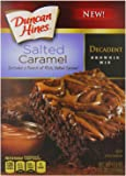Duncan Hines Decadent Brownie Mix, Salted Caramel, 17.6 Ounce