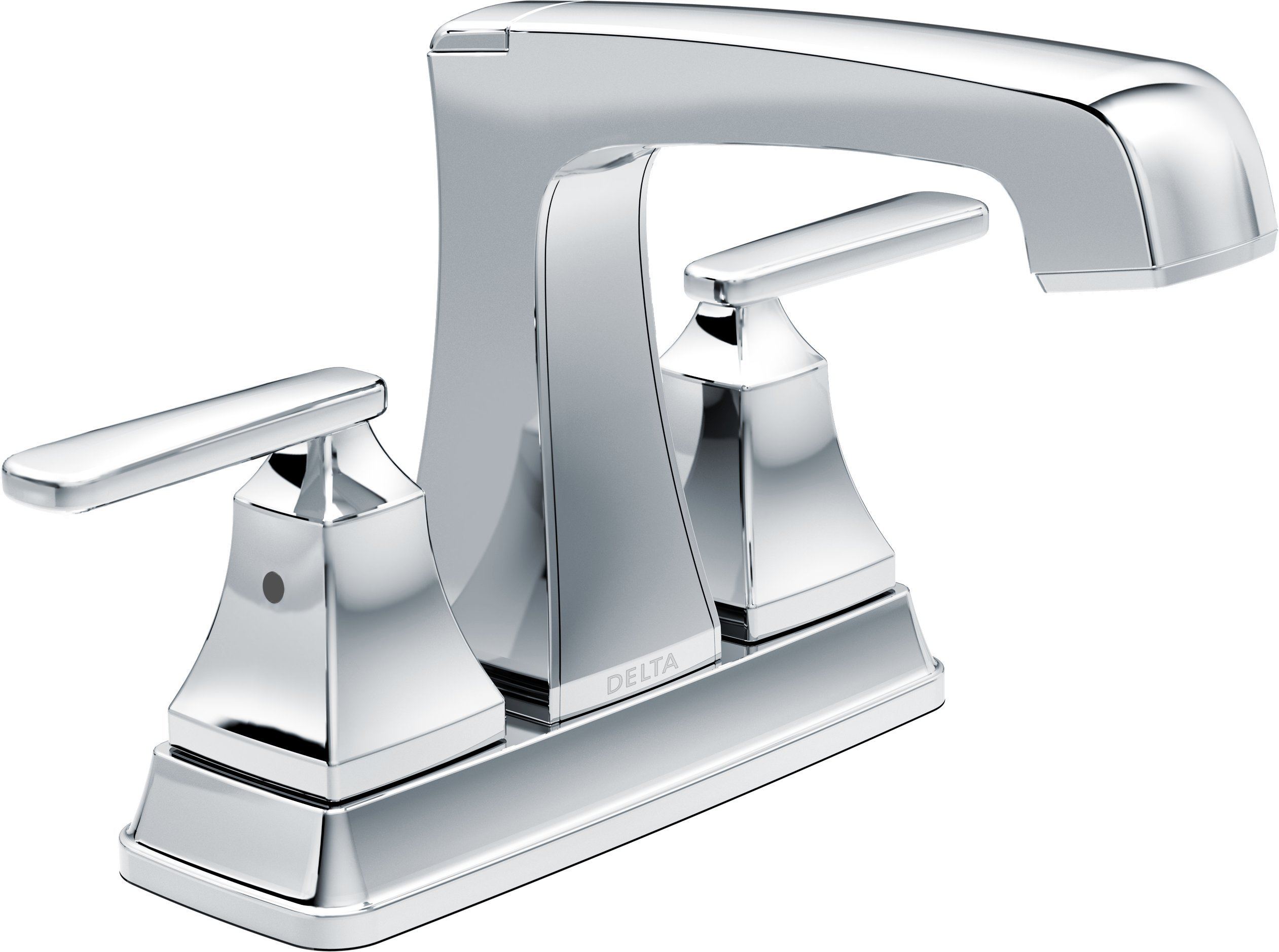 Delta Ashlyn 2-Handle Centerset Bathroom Faucet with Diamond Seal Technology and Metal Drain Assembly, Chrome 2564-MPU-DST
