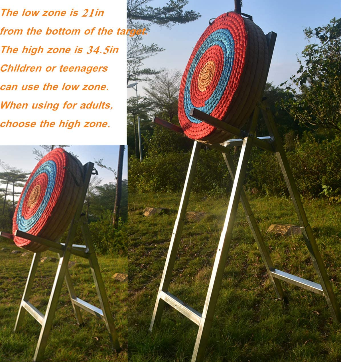 per Arco ricurvo o Arco Composto Bersaglio Tradizionale con tiro a Freccia KAINOKAI