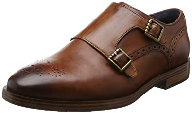 4e5fea9bde8 Cole Haan Men s Hamilton Grand Double Monk British Tan Shoe