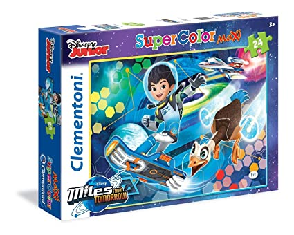 Clementoni Miles from Tomorrow Land Maxi Puzzle (24 Piece)