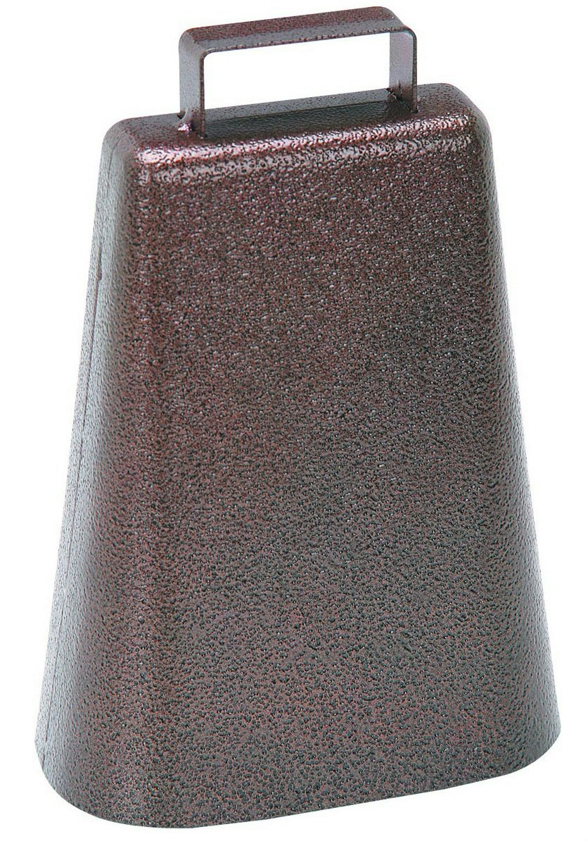 Steel Metal Classic Hanging Cow Bell Antique Copper Finish with Handle for a Country Home Harbor Freight