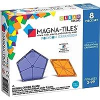Magna Tiles 8-Piece Polygons Expansion Set – The Original, Award-Winning Magnetic Building Tiles – Creativity and…