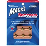 Macks Snoozers Moldable Silicone Putty Earplugs 6 Pairs x 3 (18 Pairs)