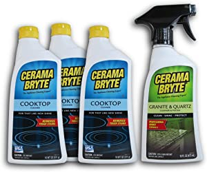 Cerama Bryte Glass Ceramic Cooktop Cleaner
