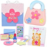 My Beary First Purse 9-Piece Gift Set - Includes Purse, Storybook, and Accessories - Great Pretend Play Toy for Toddler and L