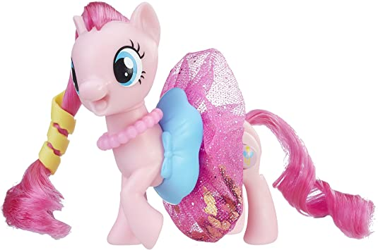 Hasbro My Little Pony: The Movie Sparkling & Spinning Skirt Pinkie ...
