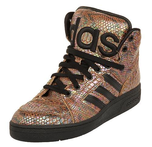 best quality ca79e 50e03 adidas originals by jeremy scott JS instinct HI rainbow mens hi top  trainers G95753 sneakers shoes