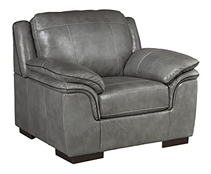 Miraculous Ashley Furniture Signature Design Islebrook Contemporary Leather Accent Chair Iron Spiritservingveterans Wood Chair Design Ideas Spiritservingveteransorg