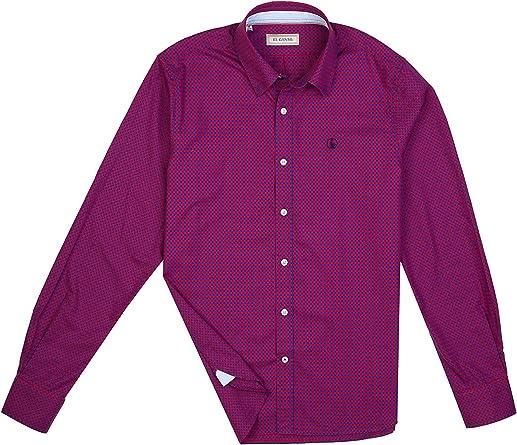 El Ganso - Colección AW19 - Camisa Oxford de Cuadros Vichy - para Hombre: Amazon.es: Ropa y accesorios