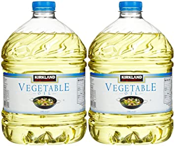 amazon com kirkland signature 100 pure vegetable oil 3 qt 2