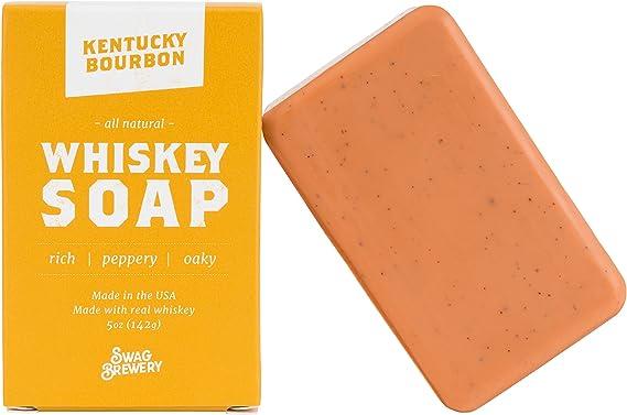 Kentucky Bourbon WHISKEY SOAP | Great Mens Gift for Whiskey