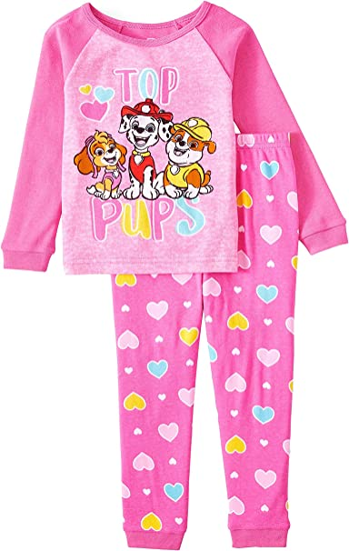 Paw Patrol Skye Little Girls Pajama Set 2-Piece Pajamas