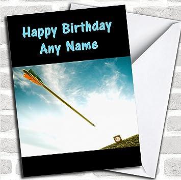 Bogenschießen Geburtstag Karte Mit Umschlag Kann Vollständig