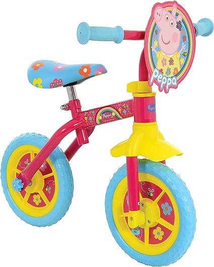 Peppa Pig M004176 2in1 - Entrenamiento para bicicleta, 25,4 cm ...